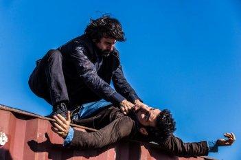 Smetto quando voglio - Masterclass: Luigi Lo Cascio ed Edoardo Leo in una scena del film
