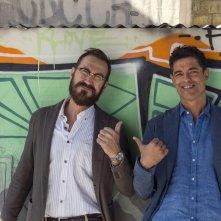 Beata ignoranza: Marco Giallini e Alessandro Gassman in un'immagine promozionale del film