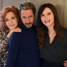 Il bello delle donne: una foto di Anna Galiena, Massimo Bellinzoni e Alessandra Martines