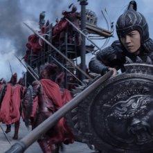 The Great Wall: Lu Han in una scena del film