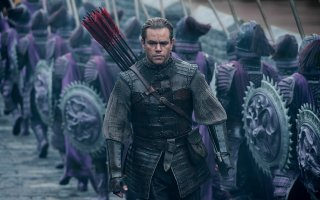 The Great Wall: Matt Damon in una scena del film