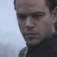 The Great Wall: un primo piano di Matt Damon