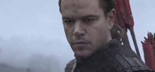 The Great Wall: un primo piano di Matt Damon