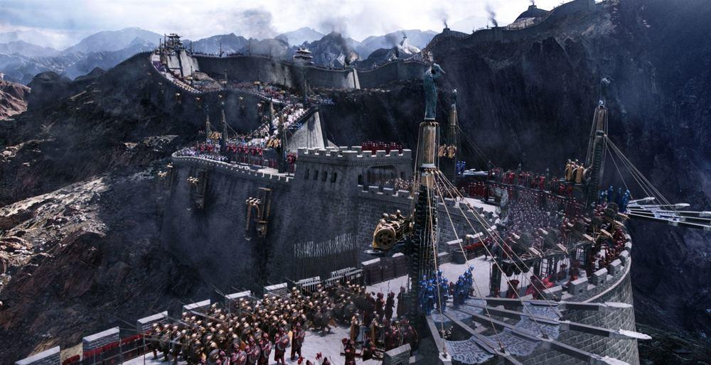 The Great Wall: una scena del film