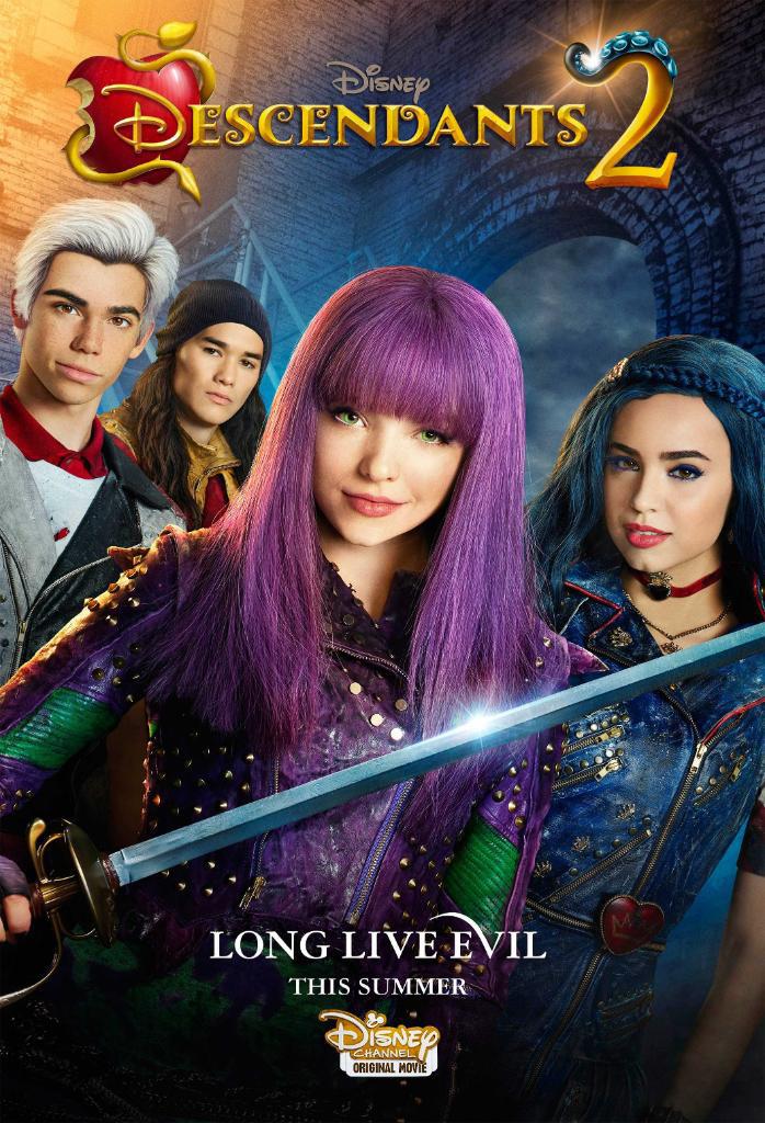 Descendants 2: un poster del film tv