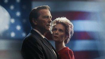 Killing Reagan: una foto di Tim Matheson e Cynthia Nixon