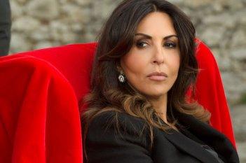 Omicidio all'italiana: Sabrina Ferilli in una scena del film