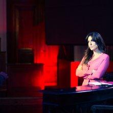 Omicidio all'italiana: Sabrina Ferilli sul set del film