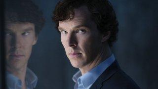 Sherlock: l'attore Benedict Cumberbatch in The Final Problem