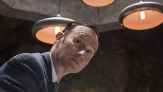 Sherlock: l'attore Mark Gatiss in The Final Problem
