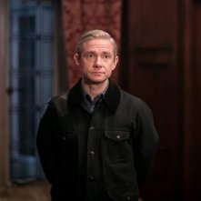 Sherlock: l'attore Martin Freeman in The Final Problem