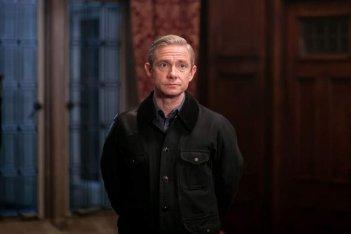 Sherlock: l'attore Martin Freeman in The Final Problem