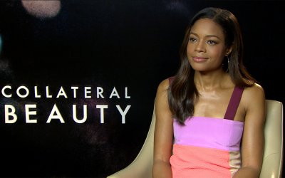 "Naomie Harris: ""Girare Collateral Beauty con Will Smith è stato intenso: è un attore generoso"""