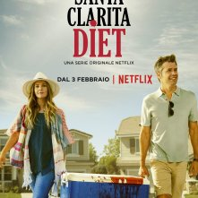 Santa Clarita Diet: un poster italiano della serie