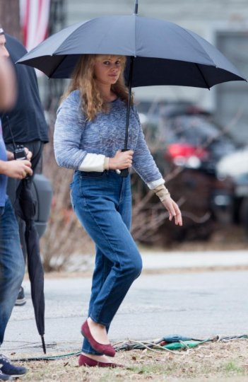 I, Tonya: Margot Robbie in una foto dal set