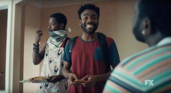 Atlanta: una scena di gruppo nella serie comedy
