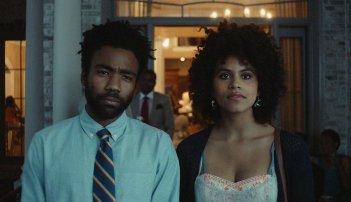 Atlanta: Zazie Beetz e Donald Glover in una scena