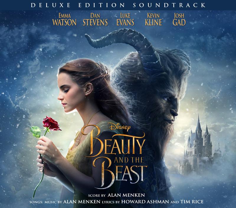 La Bella e la Bestia: la copertina della colonna sonora