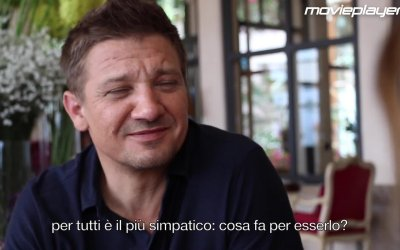 Arrival: video intervista a Jeremy Renner