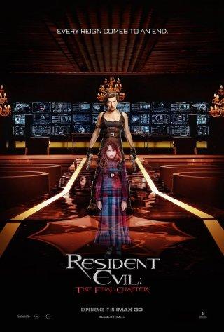 Resident Evil: The Final Chapter - un manifesto del film