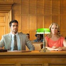 God's Not Dead 2: Melissa Joan Hart e Jesse Metcalfe in una scena del film