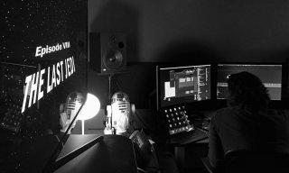 Star Wars: The Last Jedi - Una foto mostra il montaggio del film