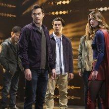 Supergirl: Una scena dell'episodio Supergirl Lives