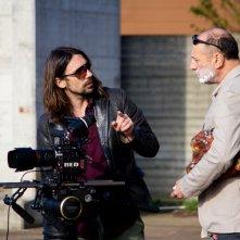 Vista mare: Arturo Di Tullio e il regista Andrea Castoldi sul set del film