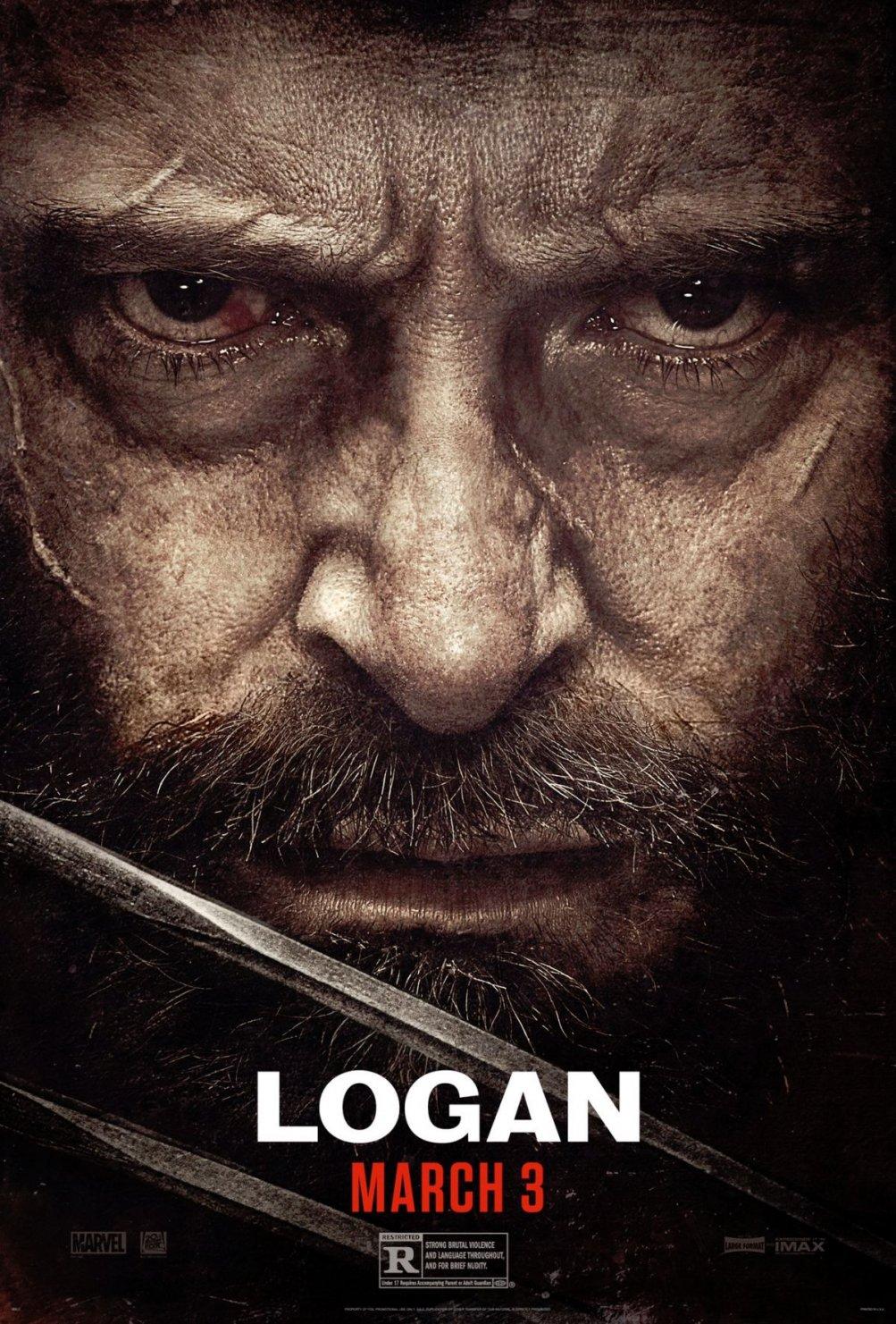 Logan: un poster del film con protagonista Hugh Jackman