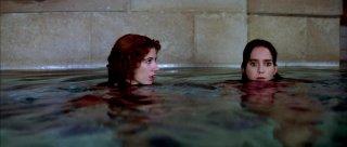 Stefania Casini con Jessica Harper in Suspiria
