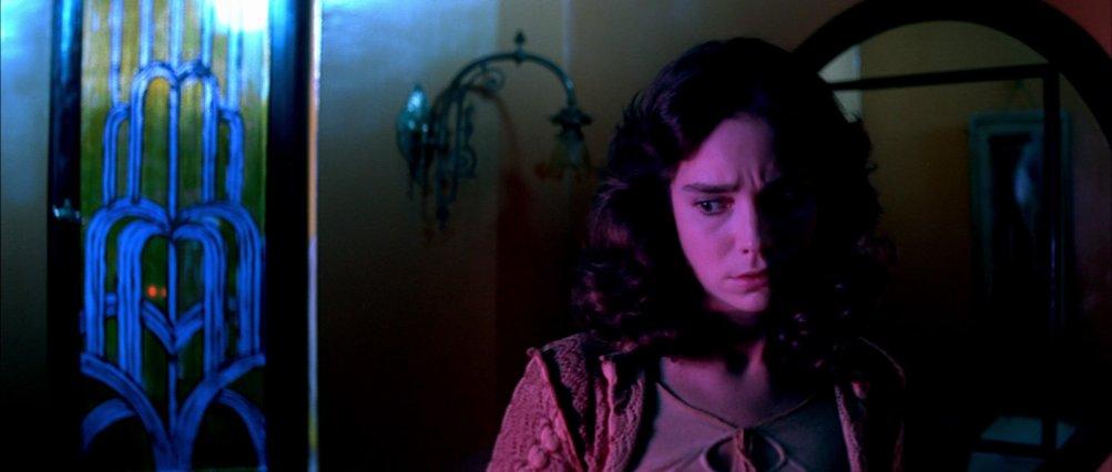 Jessica Harper in una scena di Suspiria (1977)