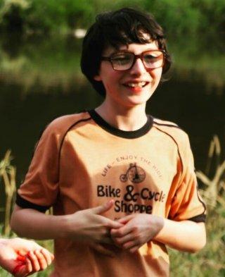 It: la prima foto di Finn Wolfhard sul set