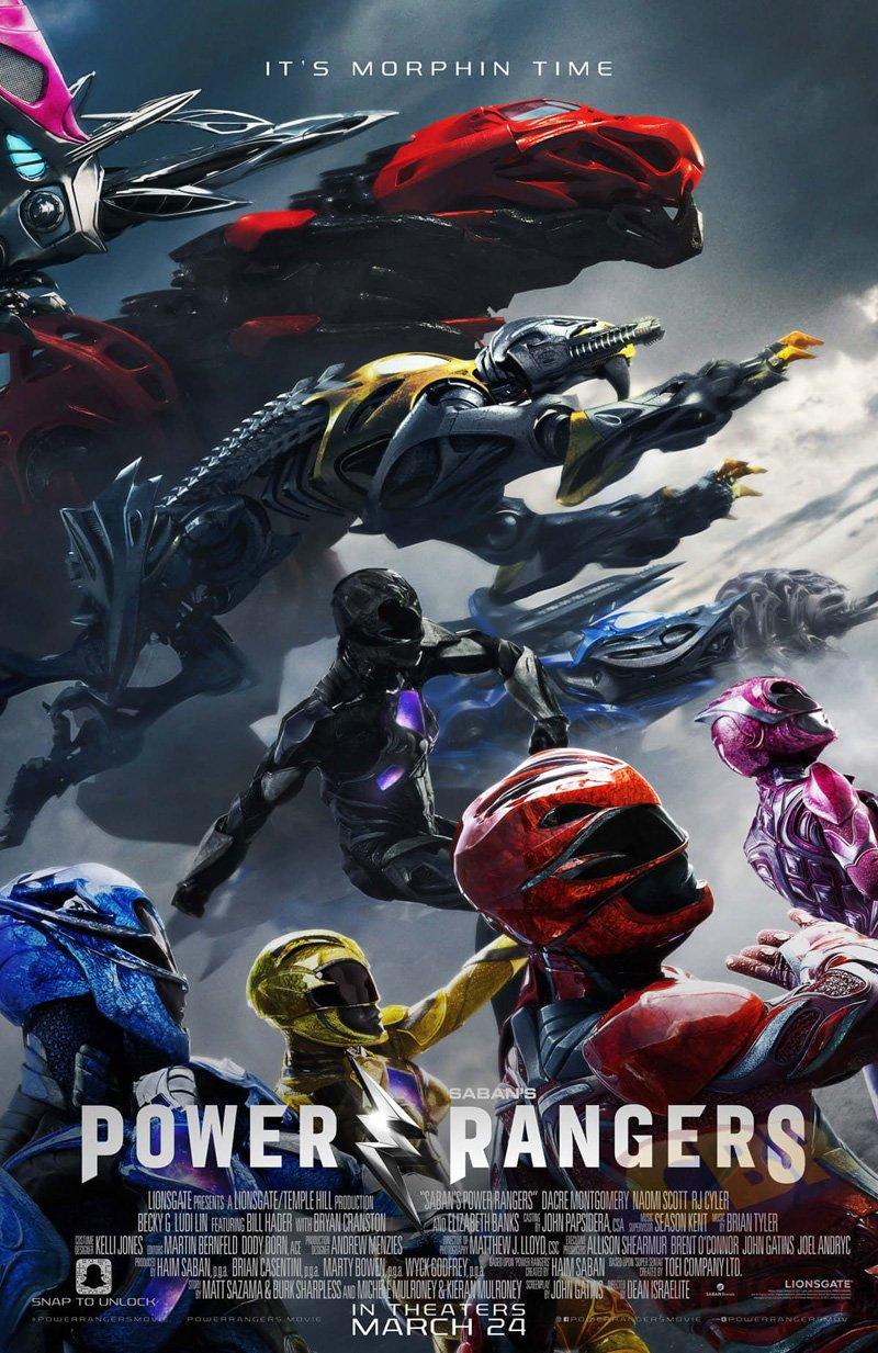 Power Rangers: un nuovo poster del film