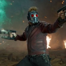 Guardiani della Galassia Vol. 2: Chris Praa in azione nei panni di Star-Lord