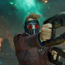 Guardiani della Galassia Vol. 2: Chris Pratt in azione nei panni di Star-Lord