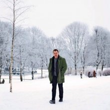 The Snowman: Michael Fassbender in una scena del film