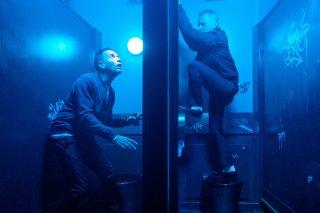 T2 Trainspotting: una scena con Ewan McGregor e Robert Carlyle