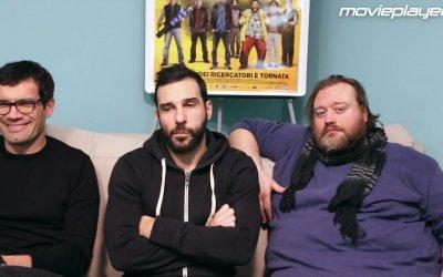 Smetto quando voglio - Masterclass: video intervista a Marco Bonini, Edoardo Leo e Stefano Fresi