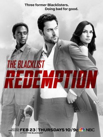 The Blacklist Redemption: la locandina della serie
