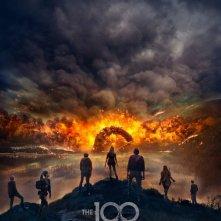The 100: il poster della quarta stagione