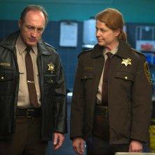 Autopsy: Michael McElhatton e Jane Perry in una scena del film