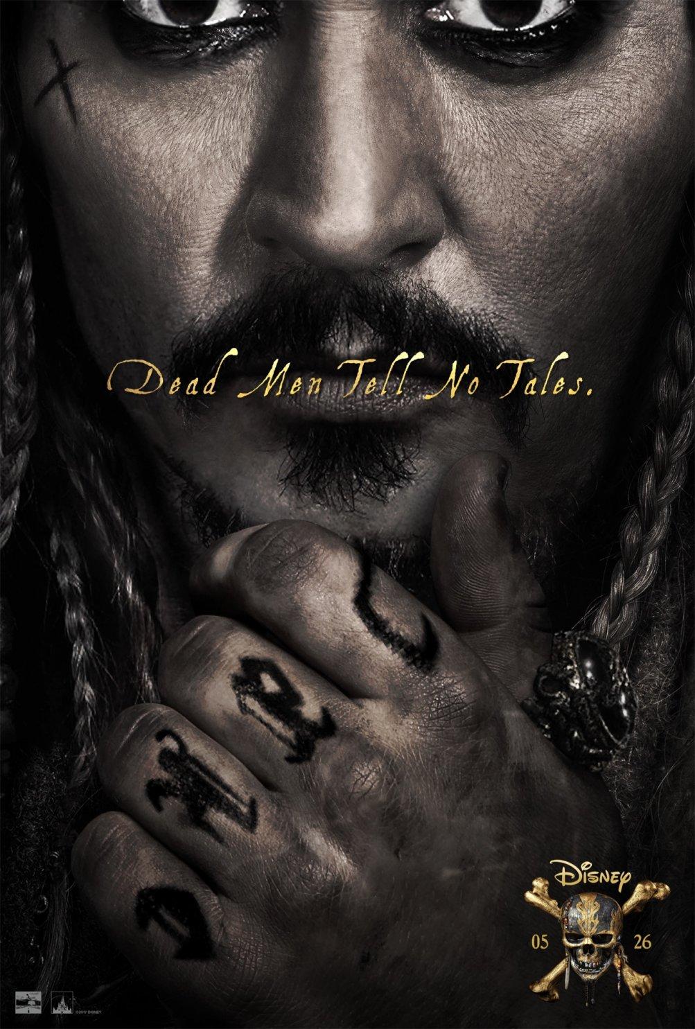 Pirati dei Caraibi: La vendetta di Salazar - La locandina del film