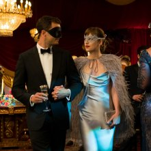 Cinquanta sfumature di nero: Jamie Dornan e Dakota Johnson interpretano Christian e Anastasia