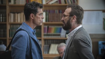 Beata ignoranza: Marco Giallini e Alessandro Gassman in una scena del film