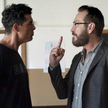 Beata ignoranza: Marco Giallini e Alessandro Gassman in un momento del film