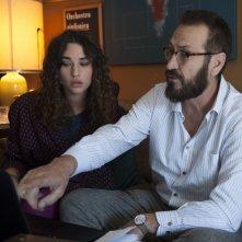 Beata ignoranza: Teresa Romagnoli e Marco Giallini in una scena del film
