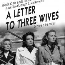 Locandina di Lettera a tre mogli
