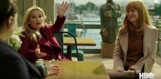 Big Little Lies: una foto di Reese Witherspoon e Nicole Kidman