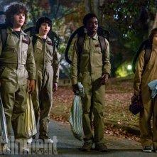 Stranger Things: i protagonisti in una foto della seconda stagione