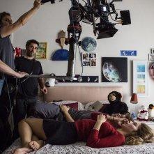 Esclusiva: Slam - Tutto per una ragazza, Barbara Ramella e Ludovico Tersigni sul set de film